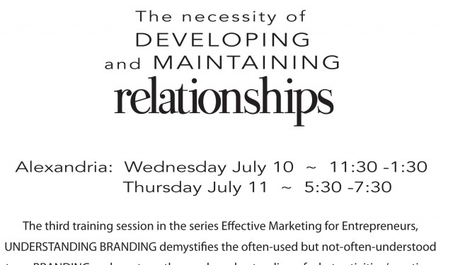 Branding-Training-Opportunity