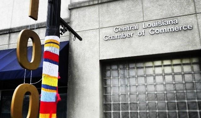 chamber yarn bomb