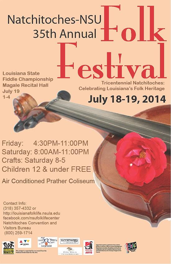 Natchitoches-NSU-Folk-Fest