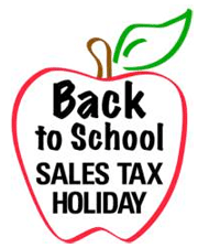 backtoschoolsalestaxholiday