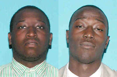 Jimique Tison (left) and Eric Tison II (right)