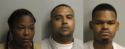 Above: Jessica Marie Garmon (left); Jarvis Cardell Robinson (middle); Billy Lafrank Wallace (right)
