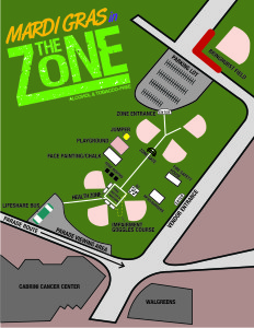 2015 ZONE MAP