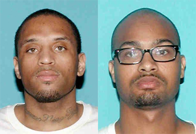 32-year-old Kendrick Dotson (left) and 25-year-old Ranji Sices (right)