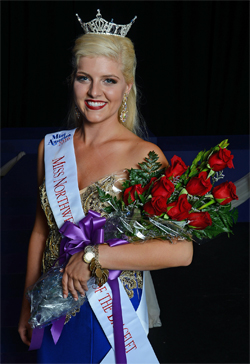 2016 Miss Northwestern Lady of the Bracelet Marissa McMickens of Pineville