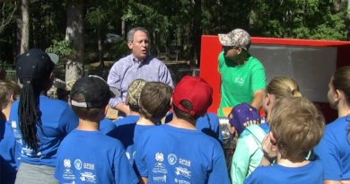 5th Graders Learn Life Skills at Camp Grant Walker
