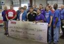 Southwest Beverage Co. Donates $3k to Food Bank