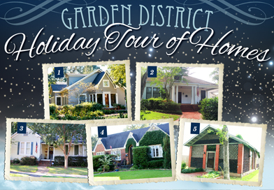 Garden District Holiday Tour of Homes Ticket Giveaway!