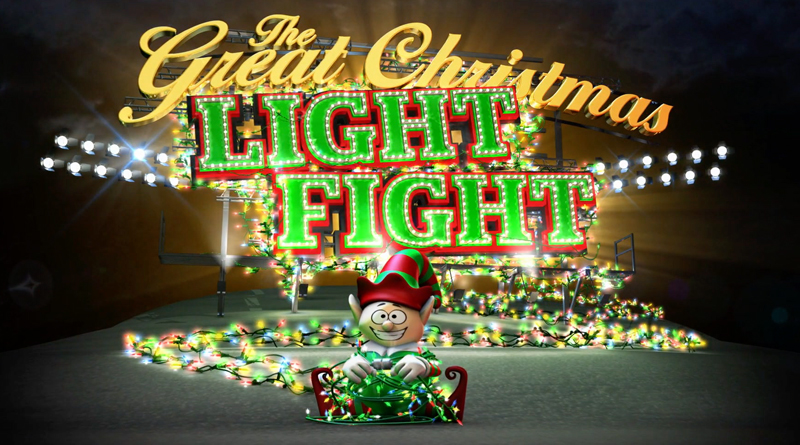 The Great Christmas Light Fight.Local Family Featured On Abc S The Great Christmas Light