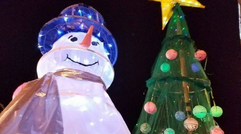 The WinterFete Illuminated Procession