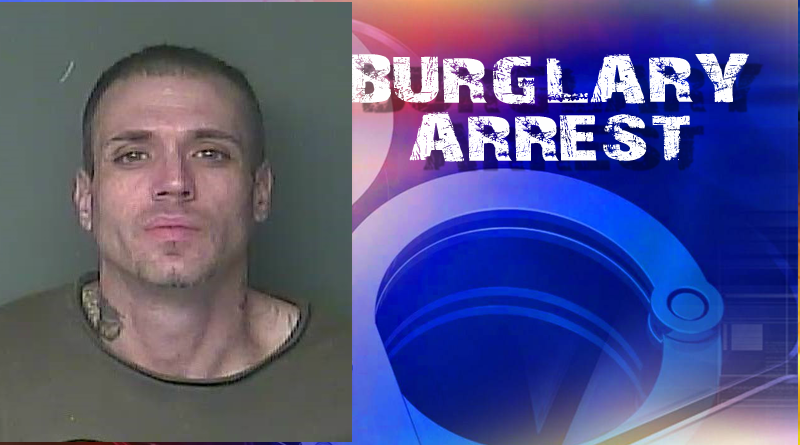Man Arrested on Multiple Counts of Burglary