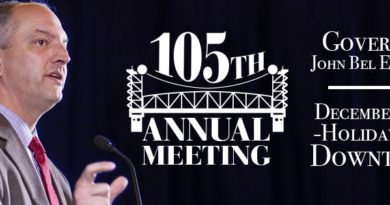 Chamber Luncheon with Keynote Speaker John Bel Edwards