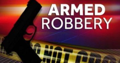Armed Robbery on Esler Field Rd.