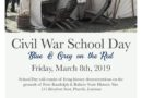 Civil War School Day at Forts Randolph and Buhlow