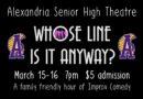 "Alexandria Senior High ""Whose Line is it Anyways?"" Improv Night"