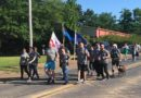 Grant  Parish Sheriff Office holds  torch run in support of the Special Oylimpics