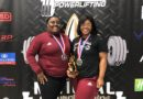 Pineville High Powerlifting competing for world titles