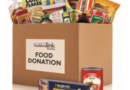 Connecting to Those in Need' food drive