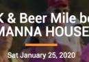 Spirits 5K Run to benefit The Manna House, Saturday Jan. 25th