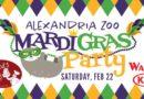 Alexandria Zoo Mardi Gras Party
