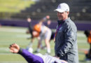 Laird praises attitude, effort in first fall scrimmage