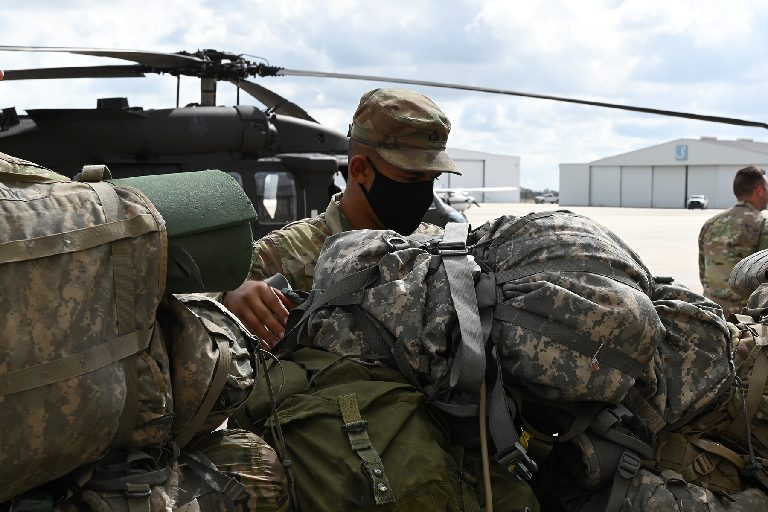 La. Guard's 256th Infantry deploys to Middle East