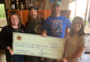 Huckleberry Brewing Company raises $4,500 for musical instruments for kids