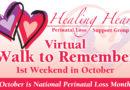 Healing Hearts sponsors 'Virtual' Walk to Remember