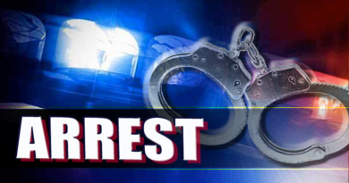Arrest Made in Theft
