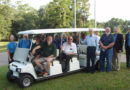 Pineville Rotary Donates Club Car to Forts Randolph & Buhlow