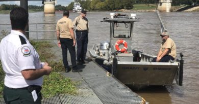 Search Continues for Woman in Red River