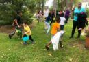 Kids were on a mission to collect as many eggs as possible at Eggstravaganza