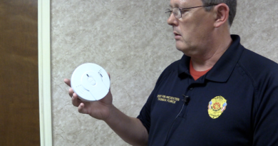 Local Fire Departments will install smoke alarms for free if needed