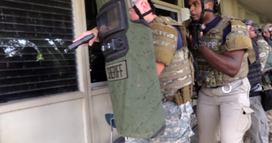 Rapides Parish Sheriff's Office  S.W.A.T  holds  Active Shooter Response Training