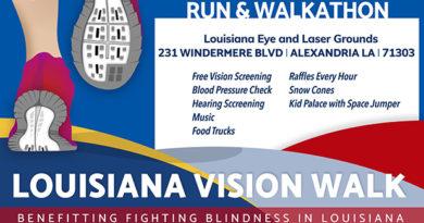 Louisiana Eye & Laser hosting free 5K to fight blindness