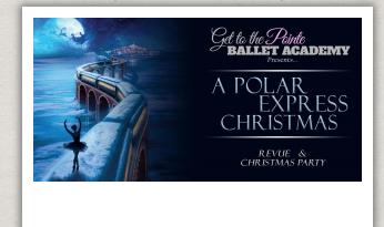 """GTTP Ballet Academy presents """"Polar Express"""""""