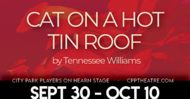"""City Park Players presents """"Cat on a Hot Tin Roof"""""""